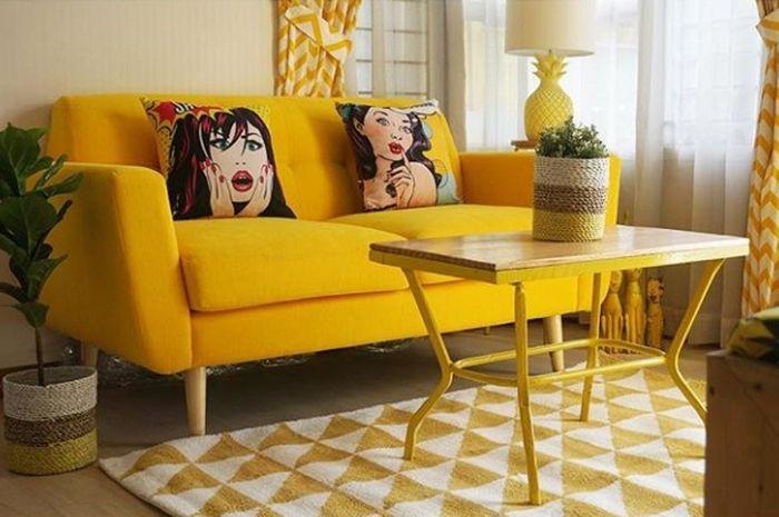 Inspirasi desain rumah kuning