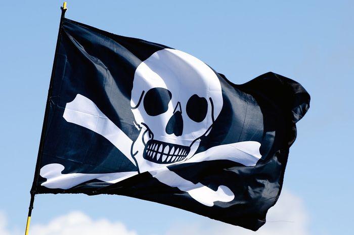 Ilustrasi bajak laut