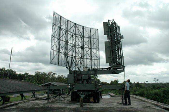 Isntalasi radar TNI AU