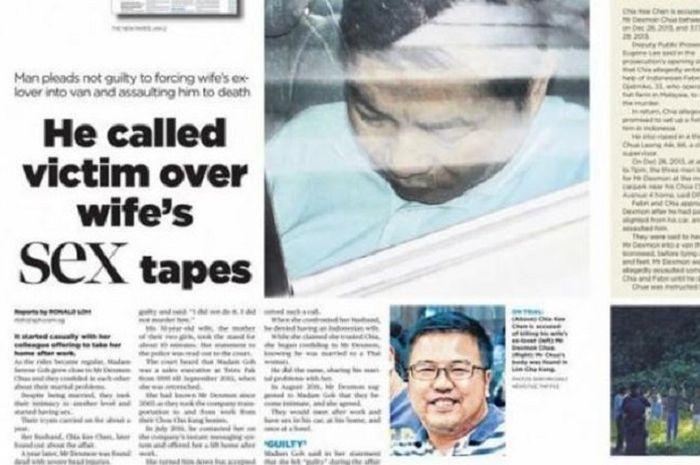 Kasus penculikan dan pembunuhan tragis akibat perselingkuhan.