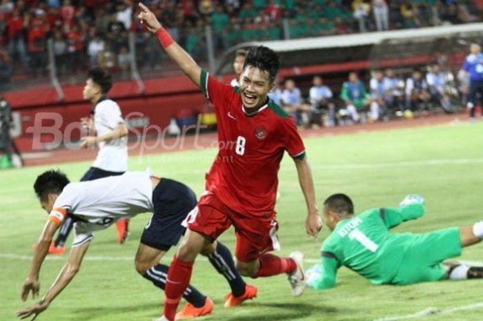 Timnas U19 Indonesia akan melawan Singapura di Piala AFF.