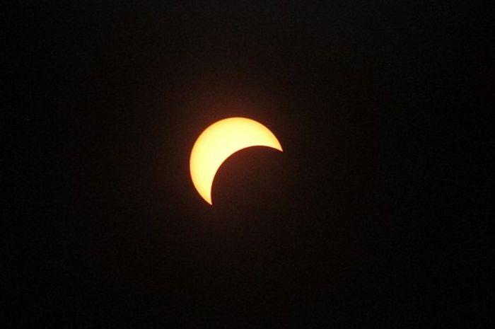 Gerhana Matahari parsial
