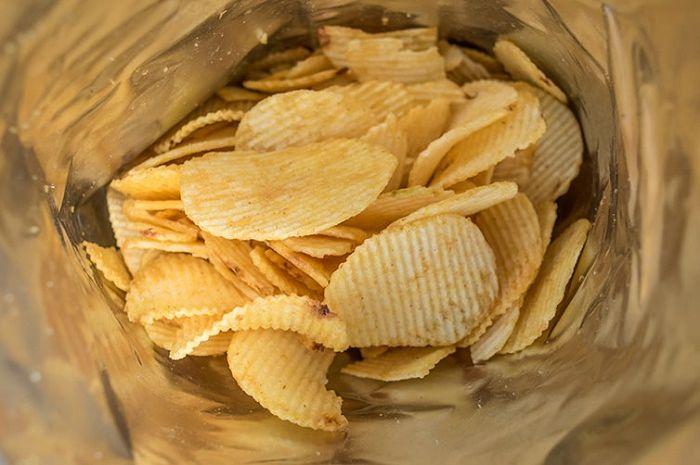 Sering tertipu kemasan keripik kentang lebih banyak isi anginnya?