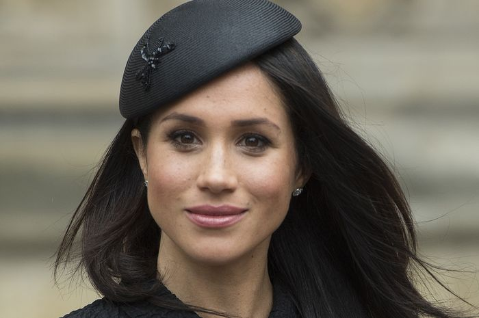 LONDON, ENGLAND - APRIL 25:  Meghan Markle attends an Anzac Day service at Westminster Abbey on April 25, 2018 in London, England. (Photo by Eddie Mulholland - WPA Pool/Getty Images)