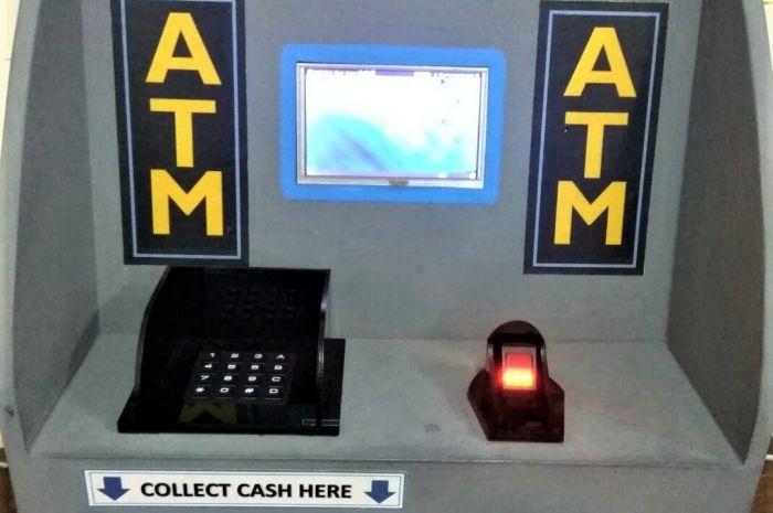 Fingerfield ATM anti skimming dan pin capturing yang dikembangkan mahasiswa ITB