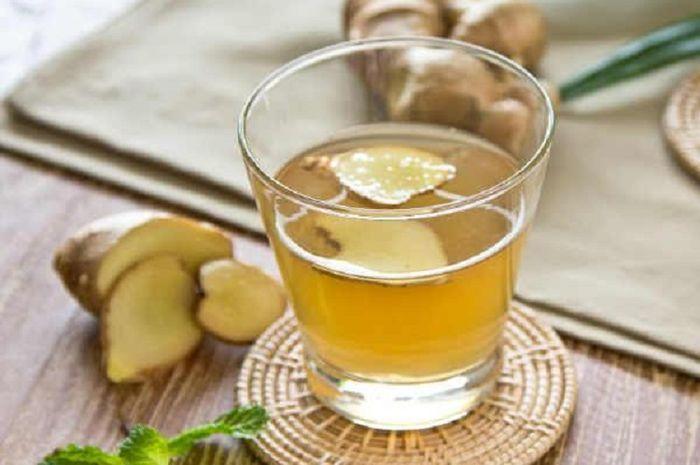 Ramuan jahe, madu dan air hangat