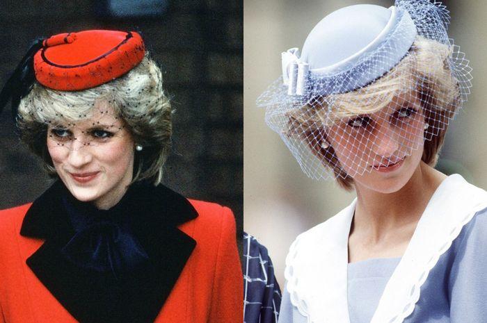 Topi Putri Diana.