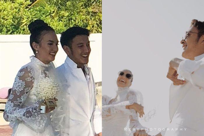 Klasik dan Cantik, Nadine Kenakan Gaun Lawas Milik Ibunya Ini di Pernikahan!