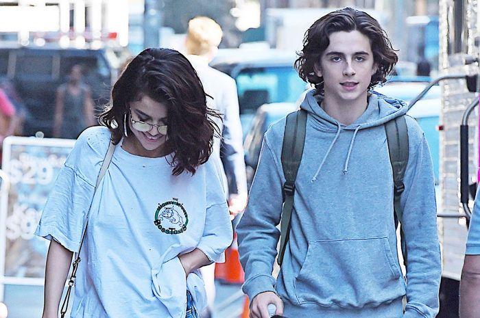 Selena Gomez dan Timothée Chalamet