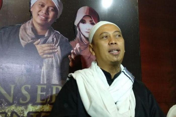 Opick saat Grid.ID temui usai pers konferensi konser amal di Djakarta Teater, Sarinah Thamrin, Jakarta.