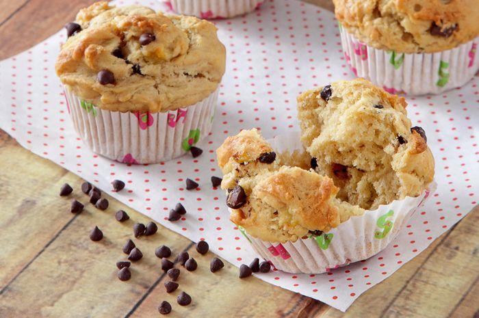 Muffin Pisang Selai Kacang
