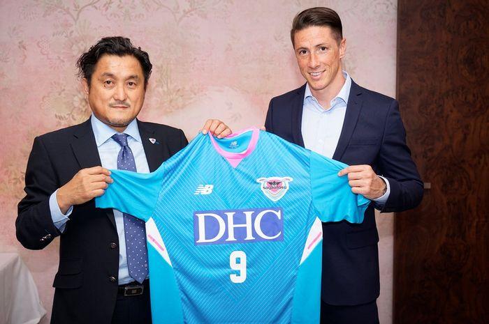 Fernando Torres bergabung dengan klub J-League, Sagan Tosu
