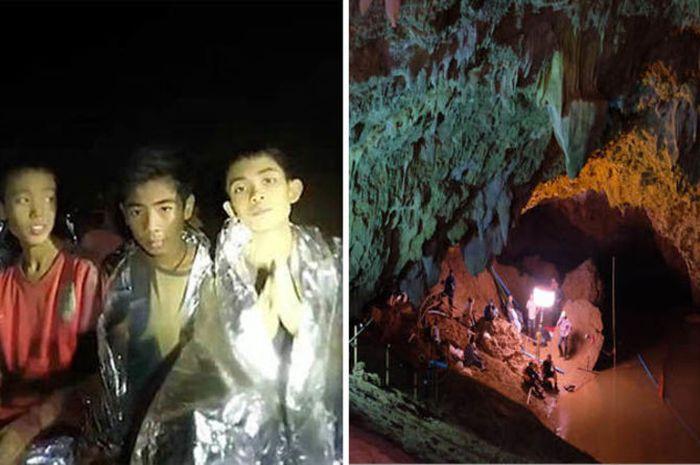 para hero di balik ebrhasilnya penyelamatan 13 orang yang terjebak di gua Thailand