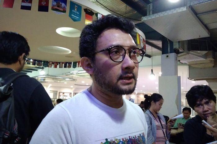Pepeng Naif saat ditemui Grid.ID di Electronic City, SCBD, Jakarta Selatan, Kamis (12/7/2018).