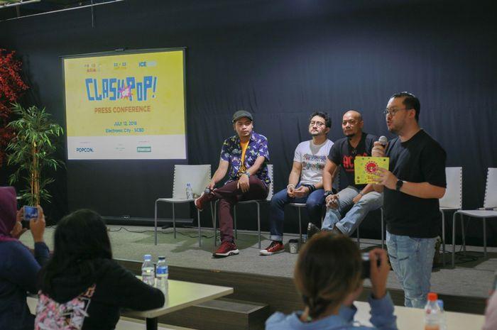 Suasana press conference Popcon Asia 2018