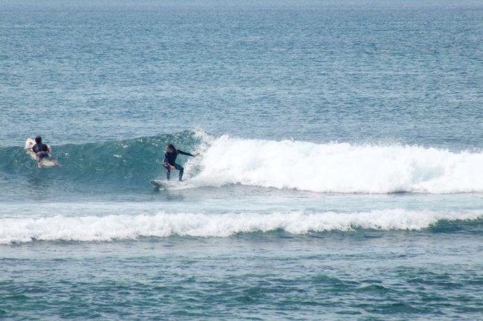 Destinasi wisata bagi para pecinta surfing, Pantai Kuala Cut di Aceh