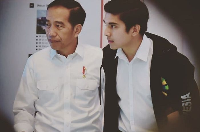 Jokowi dan Syed Saddiq Abdul Rahman