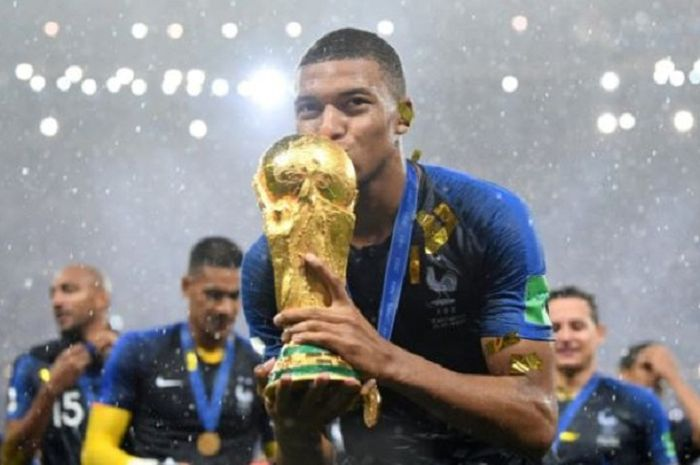 Prancis juara Piala Dunia 2018.