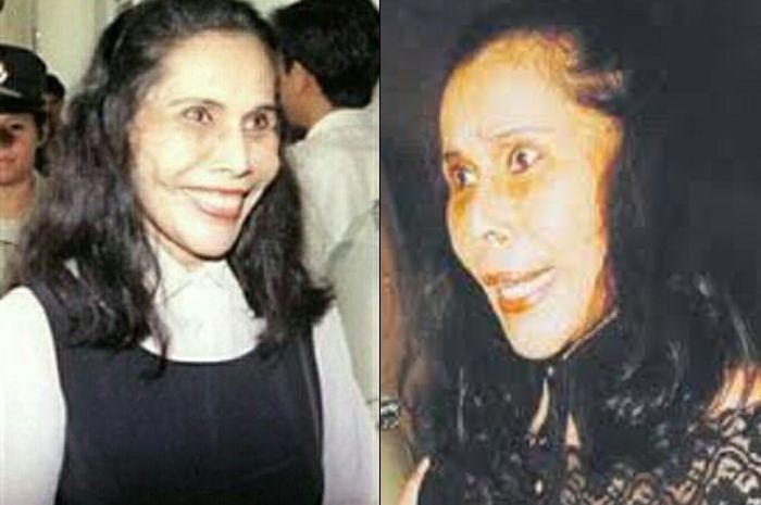 Mona Fandey dengan senyum mengerikannya.