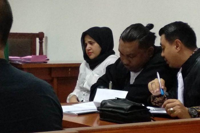Dhawiya Zaida dan Kekasihnya Jalani Sidang Tuntutan Jaksa