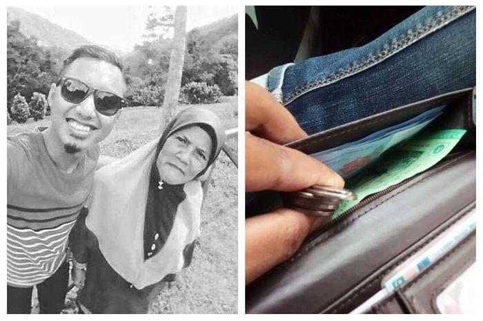 Seorang ibu diam-diam membuka dompet anaknya dan ini yang terjadi