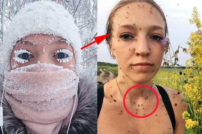 Sempat viral, unggahan terbaru gadis Rusia ini kembali bikin heboh