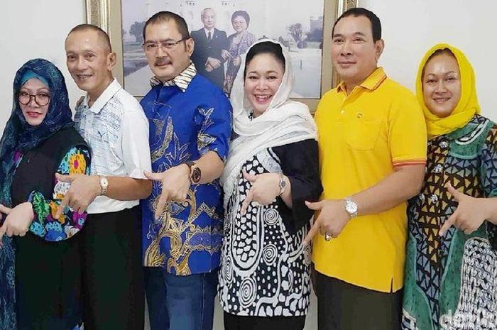 6 anak Soeharto berlabuh di Partai Berkarya