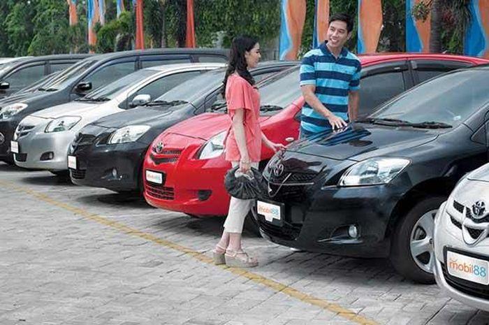 Ilustrasi mobil bekas