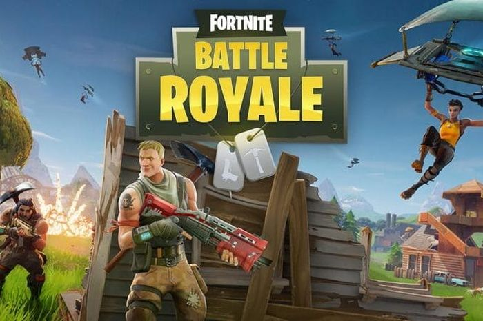 Ilustrasi Fortnite Battle Royale