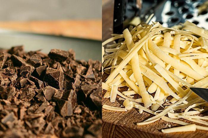 Cokelat dan keju, mana yang lebih banyak disukai?