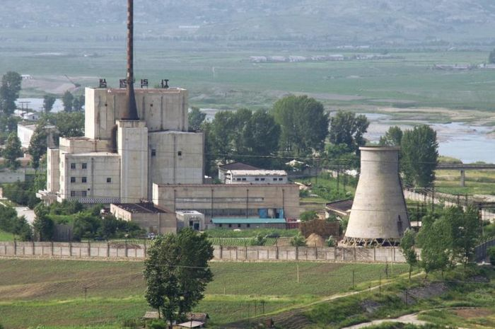 Fasilitas nuklir Korut di Yongbyon