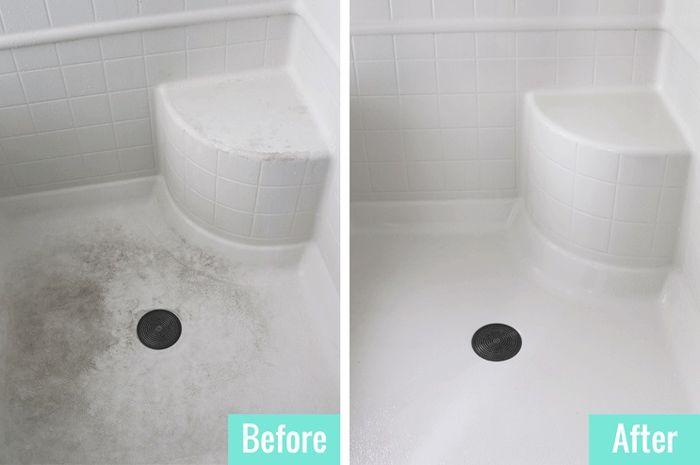 Membersihkan kamar mandi dengan mudah
