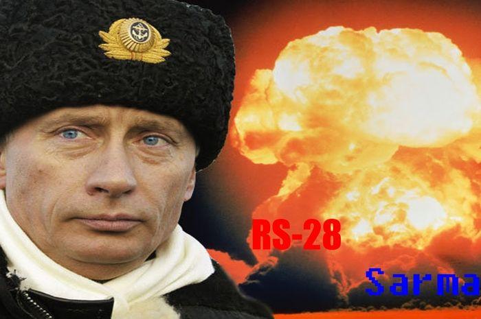Putin dan rudal Sarmat jkebanggannya