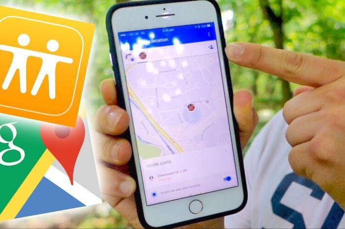 Aplikasi untuk melacak lokasi seseorang