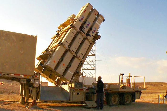 Senjata antirudal David Sling Israel
