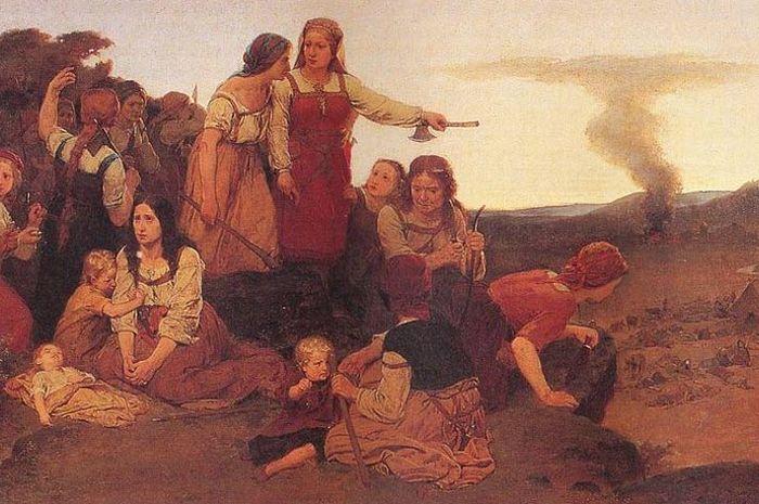 Ilustrasi Blenda dan pasukannya