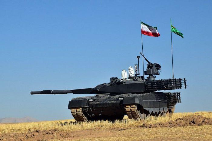 Tank Karrar  andalan Iran
