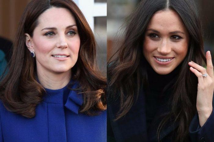 Adu Fashion Kate Middleton vs Meghan Markle saat Pernikahan Putri Eugenie, Siapa Lebih Kece?