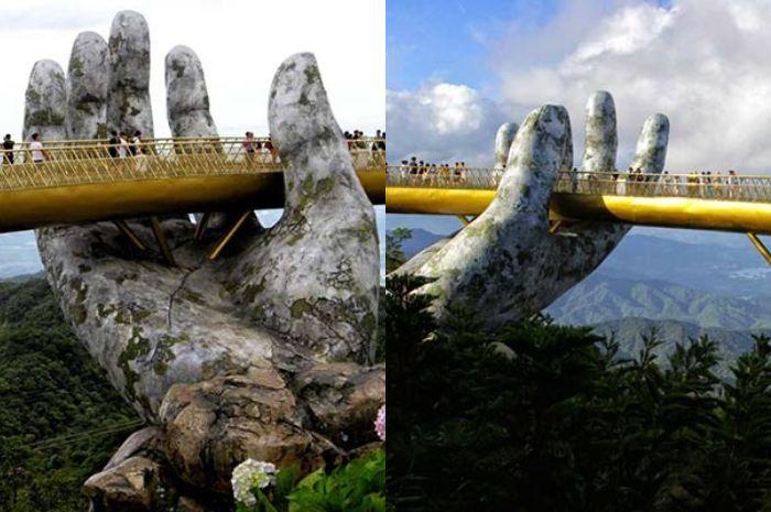 Jembatan tangan Dewa.