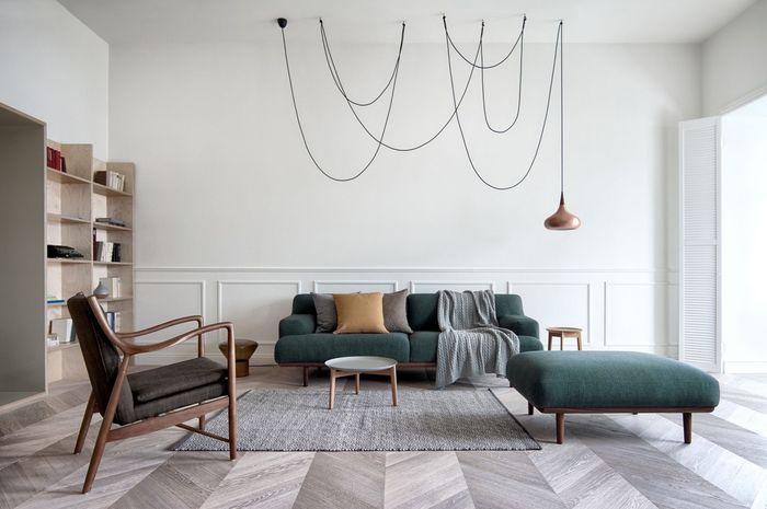 Cara menata interior rumah bisa diterapkan dengan gaya modern
