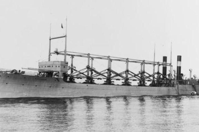 Kapal Cyclops yang berlayar dari 1910 hingga 1918.