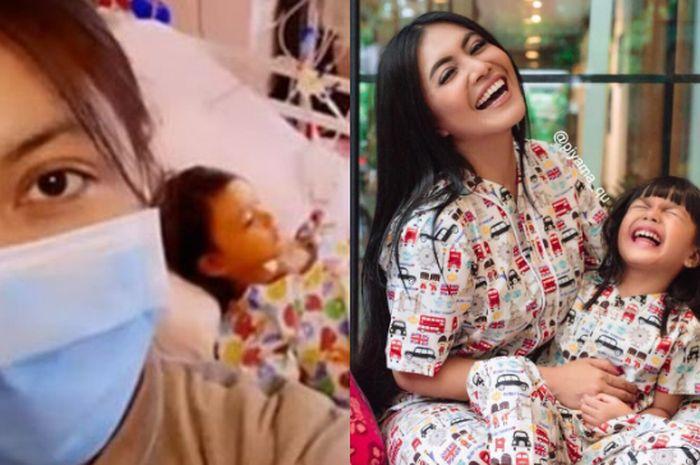 Terbaring di Rumah Sakit, Shakira Aurum, Putri Denada Masih Sempat Hibur Sesama Pasien Anak