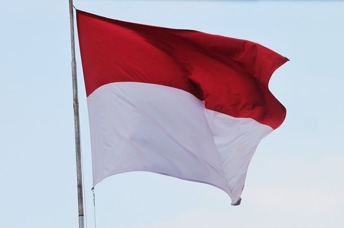 Bendera Indonesia.