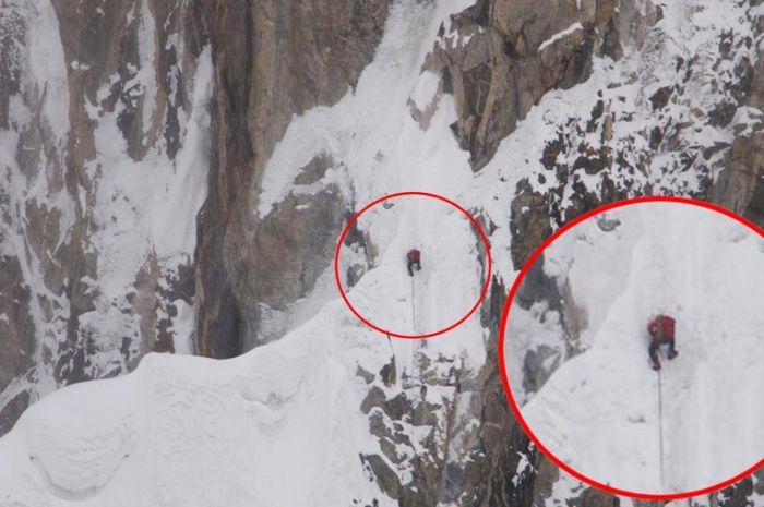 Penyelamatan pendaki gunung