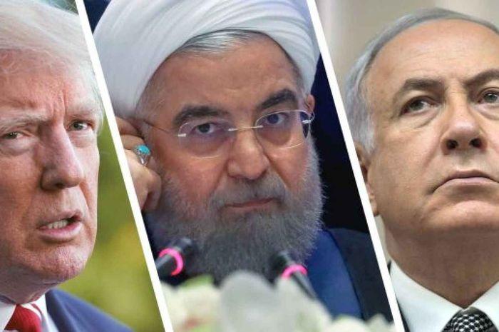 Ilustrasi upaya Iran adu domba AS-Israel