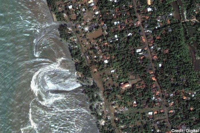 Tsunami terburuk sepanjang sejarah