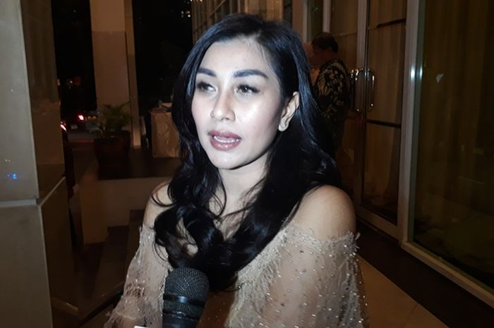 Nisya Ahmad saat ditemui Grid.ID di kawasan Gatot Subroto, Jakarta Selatan pada Minggu (5/8/2018).- Rangga Gani Satrio/Grid.ID