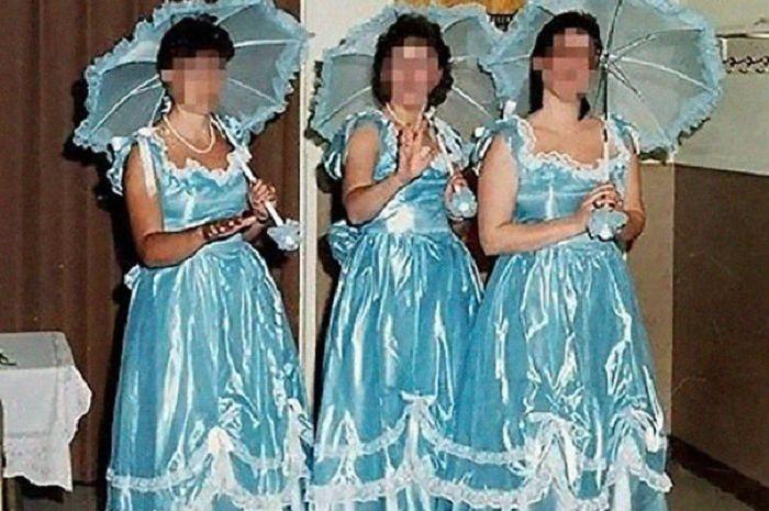Para pengiring pengantin zaman dulu.