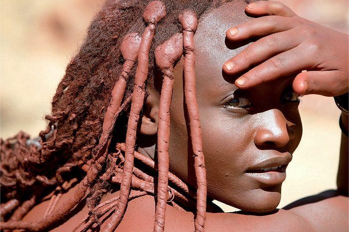 Wanita Suku Himba.