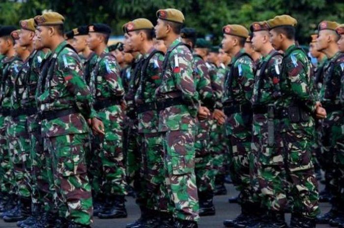 Prajurit TNI.